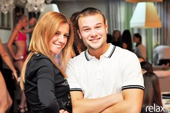 Анастасия Рыболтовер с исполнителем Максом Корж